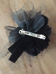 【現品購入】【送料無料】ブラックダリアのヘッドドレス